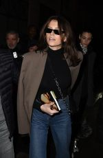 KAIA GERBER Arrives at Isabel Marant Show at Paris Fashion Week 02/28/2019