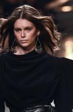 KAIA GERBER at Isabel Marant Runway Show at Paris Fashion Week 02/28/2019