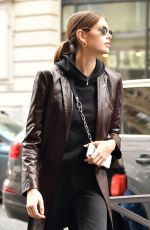 KAIA GERBER Out at Paris Fashion Week 03/01/2019