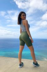 KALANI HILLIKER on Vacation with Sister - Instagram Pictures and Video, March 2019