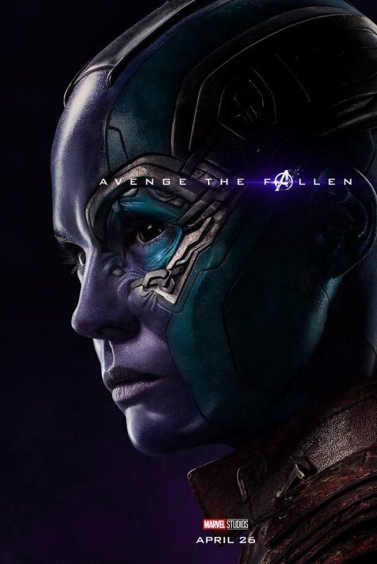 KAREN GILLAN – Avengers: Endgame Poster and Trailer