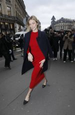 KARLIE KLOSS Arrives at Stella McCartney Fashion Show in Paris 03/04/2019