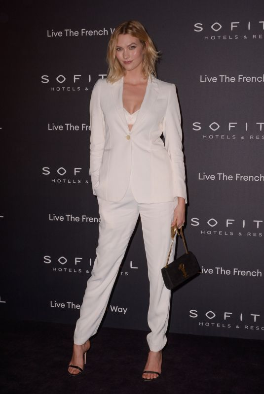 KARLIE KLOSS at La Nuit by Sofitel Party with CR Fashion Book in Paris 02/28/2019