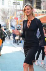 KARLIE KLOSS Heading to Tonight Show in New York 03/11/2019