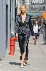 KARLIE KLOSS Out in New York 03/11/2019