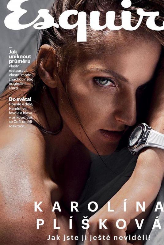KARLINA PLISKOVA in Esquire Magazine, Czech Republic March 2019