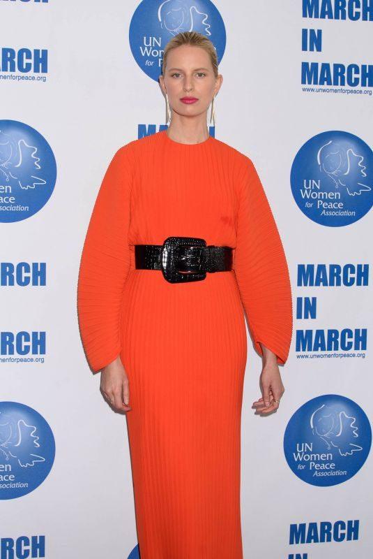 KAROLINA KURKOVA at UN Women for Peace Luncheon in New York 03/01/2019