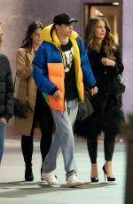 KATE BECKINSALE and Pete Davidson Night Out in New York 03/02/2019