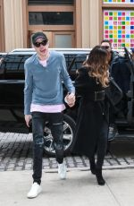 KATE BECKINSALE and Pete Davidson Out in New York 03/03/2019