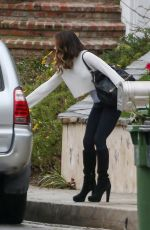 KATE BECKINSALE Heading to a Hospital in Los Angeles 03/11/2019