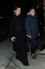 KATE BECKINSALE Night Out in New York 02/28/2019