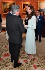 KATE MIDDLETON at a Reception to Mark 50th Anniversary of Investiture of the Prince of Wales in London 03/05/2019