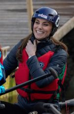 KATE MIDDLETON at Roscor Youth Village in Belfast 02/27/2019