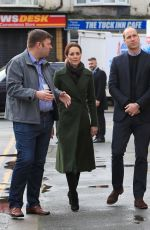 KATE MIDDLETON at Royal Visit to Blackpool 03/06/2019