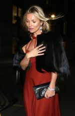 KATE MOSS at National Portrait Gallery Gala in London 03/12/2019