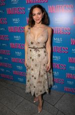 KATHARINE MCPHEE at Waitress the Musical Press Night in London 03/07/2019