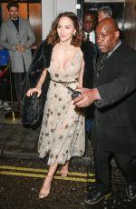 KATHARINE MCPHEE Leaves Adelphi Theatre in London 03/07/2019