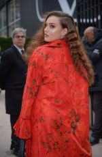 KATHERINE LANGFORD at Valentino Show at Paris Fashion Week 03/03/2019
