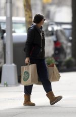 KATIE HOLMES at Whole Foods in Beverly Hills 03/13/2019
