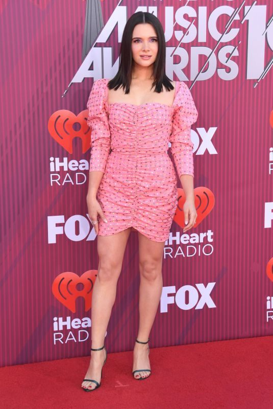 KATIE STEVENS at Iheartradio Music Awards 2019 in Los Angeles 03/14/2019