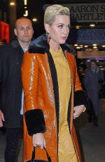 KATY PERRY Arrives at To Kill a Mockingbird on Broadway Show in New York 02/28/2019
