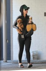 KATY PERRY Out with her Dog in Beverly Hills 03/03/2019