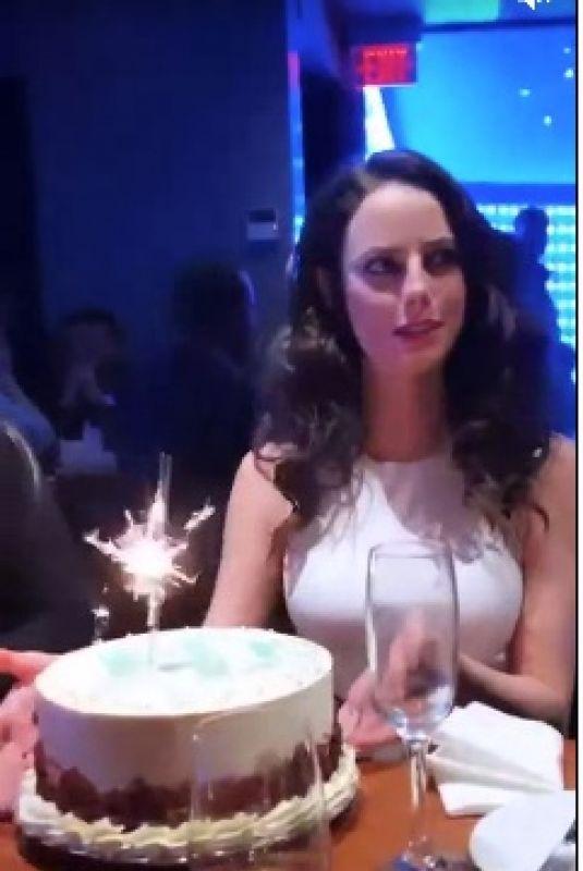 KAYA SCODELARIO Celebrates Her Birthday 03/13/2019