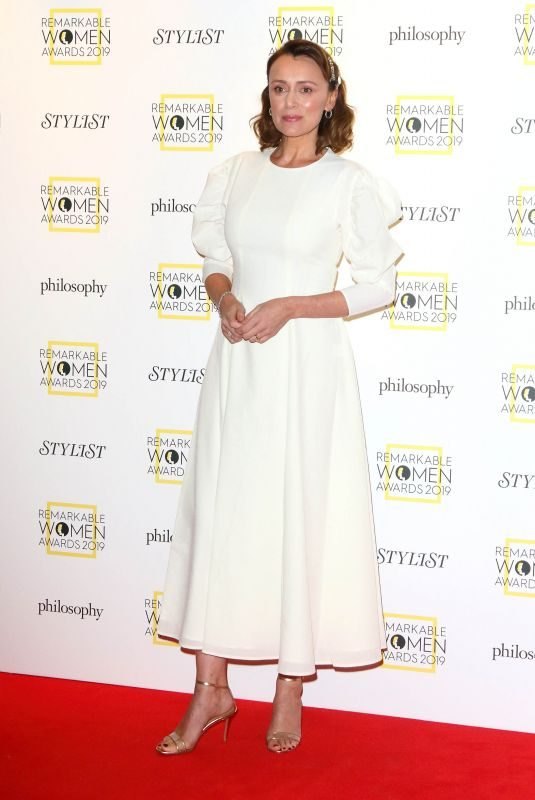KEELEY HAWES at Remarkable Women Awards in London 03/05/2019