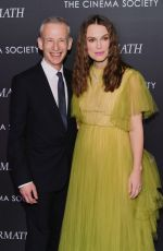 KEIRA KNIGHTLEY at The Aftermath Screening in New York 03/13/2019