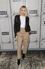 KELLI BERGLUND at AOL Build Series in New York 03/01/2019