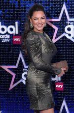 KELLY BROOK at Global Awards 2019 in London 03/07/2019