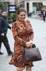 KELLY BROOK at Heart Radio Studios in London 03/15/2019