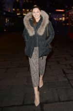 KELLY BROOK Night Out in London 03/12/2019
