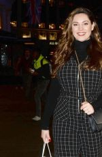 KELLY BROOK Night Out in London 03/21/2019