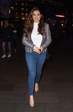 KELLY BROOK Out and About in London 03/14/2019