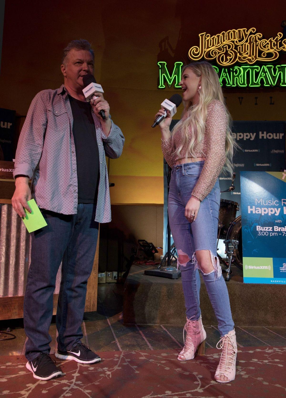 KELSEA BALLERINI at SiriusXM's Music Row Happy Hour Live in