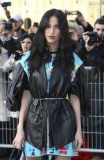 KELSEY ASBILLE at Louis Vuitton Show at Paris Fashion Week 03/05/2019
