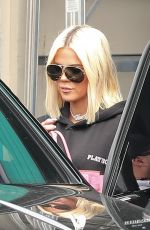 KHLOE KARDASHIAN Leaves a Studio in Los Angeles 02/28/2019