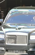 KHLOE KARDASHIAN Leaves a Studio in Rolls Royce Phantom 03/08/2019