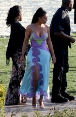 KIM KARDASHIAN at Wedding Ceremony of Chance the Rapper and Kirsten Corley 03/09/2019