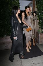 KIM, KOURTNEY and KHLOE KARDASHIAN and KYLIE JENNER at Giorgio Baldi in Santa Monica 03/12/2019