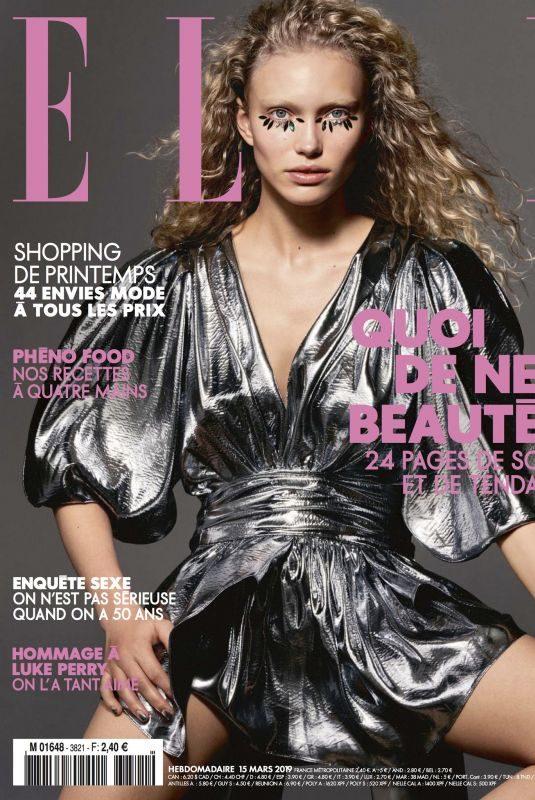 KIM VAN DER LAAN for Elle Magazine, France March 2019