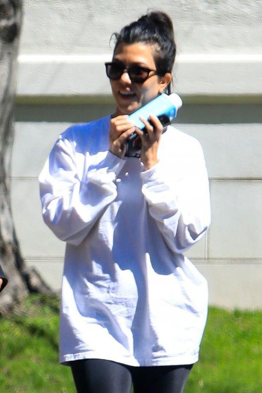 KOURTNEY KARDASHIAN Out in West Hollywood 03/14/2019