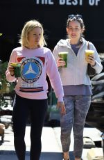 KRISTEN BELL Out for Smoothie in Los Feliz 03/13/2019