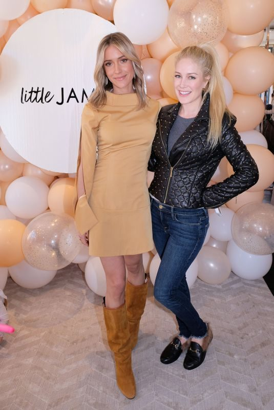 KRISTIN CAVALLARI and HEIDI MONTAG at Little James by Kristin Cavallari Pop-up Event in Pacific Palisades 03/16/2019