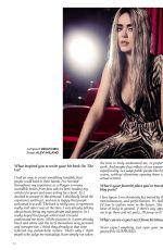 KRISTINA BAZAN in QP Magazine, January 2019