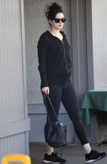 KRYSTEN ROTTER Heading to Pilates Class in Los Angeles 03/08/2019