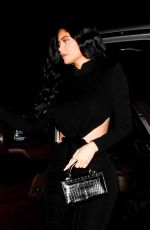 KYLIE JENNER Arrives at Nice Guy in Los Angeles 03/15/2019