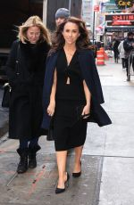 LACEY CHABERT Arrives at Good Morning America in New York 03/04/2019