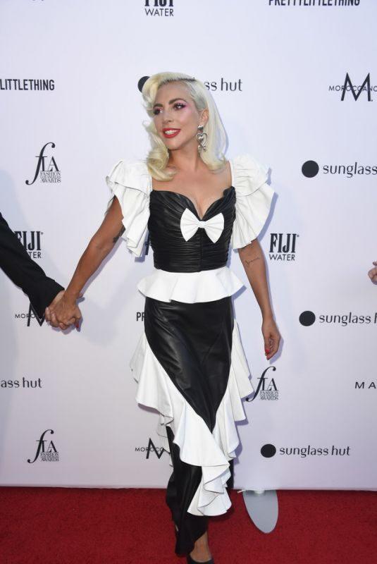 LADY GAGA at Daily Front Row Fashion LA Awards 03/17/2019